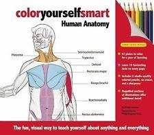 NEW Color Yourself Smart: Human Anatomy 160710217x by Leonard, Wendy