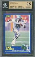 Cris Carter Rookie Card 1989 Score #72 Eagles BGS 9.5 (9.5 9 9.5 9.5)