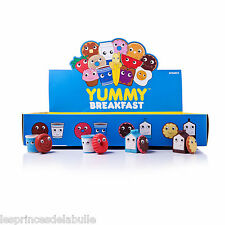 2-Pack Yummy Breakfast Series - Figurines Gum / Eraser Heidi Kenney & Kidrobot