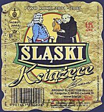Poland Brewery Lwówek Śląski Książęce Beer Label Bieretikett Cerveza ls130.2
