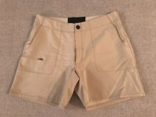 Ibex Climawool Cirrus Women's Beige Polyester Blend Shorts Size 8 #C3