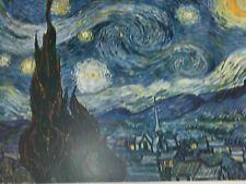 The starry Night Vincent Van Gogh Print Vintage 24559