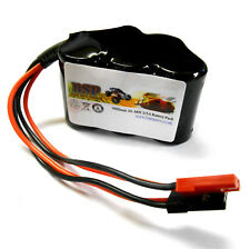 BSP RC Model 6v 1600mah Ni-MH Rechargeable Battery Pack Compatible JST JR Hump 1