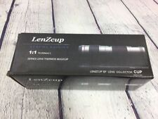LenZcup Stainless Steel Thermo Cup Modeling 1:1 Canon 70-200mm f/4 - White w Box