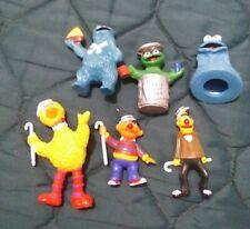 Vintage 1985 Sesame Street Big Bird/Cookie Monster/Ernie - Tara Toys Muppets