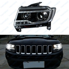 Fit For 2011-15 Year Jeep Compass HID Headlight DRL Bi-xenon  Lighting Lamps