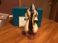 "WDCC Cruella DeVil ""Perfectly Wretched"" New in Box"