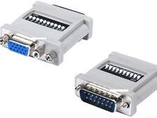 MAC DB-15(Male)to PC HD-15(Female)monitor Adapter 74