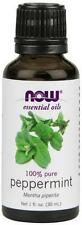 Aromatherapy Now Foods Peppermint Oil 1 Oz
