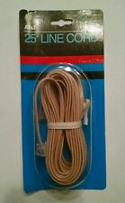 AT&T 25Ft Line Cord NOS