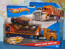 HOT WHEELS MUSCLE MANIA SHOW CAR 2 PACK ***BRAND NEW & VHTF***