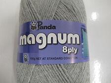PANDA MAGNUM 8 PLY 100 GR 4 BALLS SILVER,SALE,NO 1068,