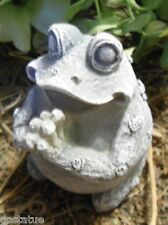 Praying latex frog mold plaster rapid set cement all mould
