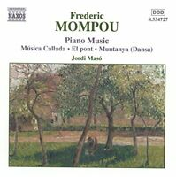 Jordi Maso - Mompou-Piano Music, Vol 4 [CD]