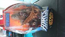 Star wars  chewbacca force battler figure hasbro new sealed water firing rare