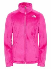 NWT North Face Girls Osolita Fleece Full Zip Jacket Pink XL XLarge 18