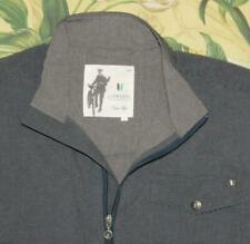 LINKSOUL Gray Poly Spandex Full Zip Golf Jacket Large L
