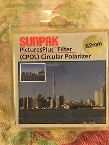 SunPak PicturePlus Filter CPOL Circular Polarizer 62mm