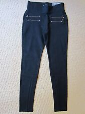 WOMEN'S ABERCROMBIE & FITCH A&F BLACK HIGH RISE LEGGINGS PANTS SIZE XSMALL NWT