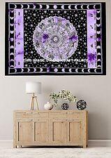 Indian Zodiac Tapestry Wall Hanging Mandala Hippie Tapestries Throw Bohemian Art