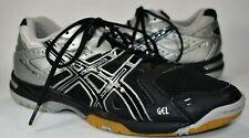 Asics Gel Rocket B207N Trainer Tennis Shoes Volleyball Men Size 7.5 Black Silver