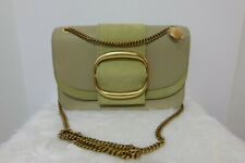 d9aa474df85d1 SEE BY CHLOÉ Hopper Medium Leather and suede Crossbody bag in green