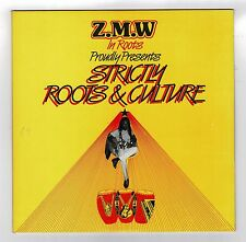 Z.M.W IN ROOTS-strictly roots & culture  LP (hear)  reggae   dub   ex shop stock