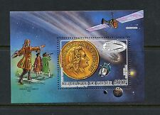 Guinea 1986 #990 Halley's Comet space sheet Mnh I925