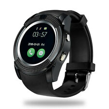 Neuf Bluetooth Smart Watch pour Android & iOS Devices Built in MIC & Haut-Parleur V9