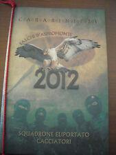 CALENDARIO CARABINIERI  CACCIATORI CALABRIA ANNO 2012