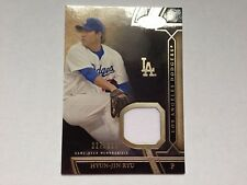 Hyun-Yin Ryu 2015 Topps Tier One Game Used Jersey Card #/399 LA Dodgers