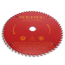 9 Inch 60T Carbide Alloy Circular Saw Blade Disc For Cutting Wood Plastic Metal