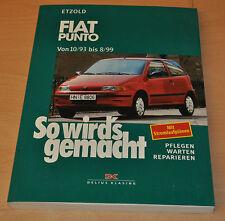 FIAT Punto 1,1 1,2 1,4 1,6 1,7 10/93 Benziner Diesel Reparaturanleitung SWG 92
