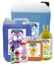 Fresh Pet Animal Kennel and & Deodoriser - Choose Own Fragrance & Size