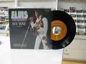 "ELVIS PRESLEY 7"" SPANISH MY WAY / AMERICA 1978"