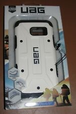 UAG Samsung Galaxy S7 Feather Light Rugged White Black Case NEW