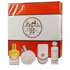 Hermes Parfums For Women 4 Piece Set Coffret (4 Miniature Fragrances)Rare.