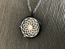 Valyria Stainless Steel Dreamcatcher Essential Oil Diffuser Necklace for doTERRA