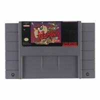 Taz-Mania (Super Nintendo Entertainment System, 1993) Authentic Tested Works