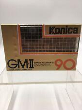 Vintage Konica GM-II Grand Master Type II CrO2 High Bias 90 Min Cassette Tape