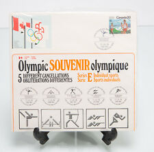 Canada Montreal Olympics 1976 - 5 Stamp Souvenir Set - Sports Series E SEALED