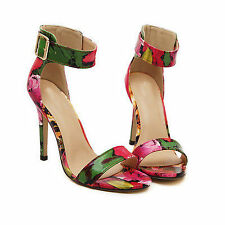 "High 3"" and Up Women's Floral Sandals & Flip Flops"