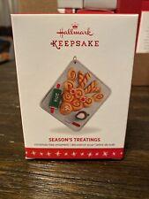 Hallmark Season'S Treatings #8 Series 2016 Christmas Keepsake Ornaments