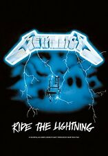 METALLICA - RIDE THE LIGHTNING - FABRIC POSTER - 30x40 WALL HANGING - HFL0114