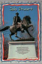 Confederate Statue of JEB Stuart Monument Avenue Richmond Virginia VA - Postcard