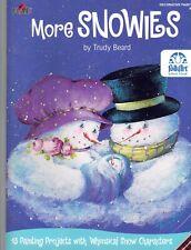 More Snowies Trudy Beard 13 Decorative Tole Painting Patterns Snowmen Plaid Xmas