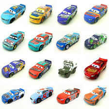 Cars 3 Lightning Mcqueen Racers School Bus Metal Car Toys 1:55 Loose Kids Toys