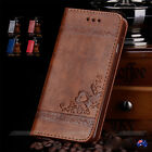 Flower PU Leather Wallet Card Holder Flip Case Cover for Apple iPhone 7 8 Plus