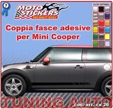 Mini Cooper - Fasce adesive a 1 colori - cod. art. cx26