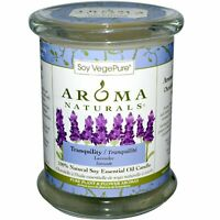 100% Natural Soy Essential Oil Candle, Tranquility, Lavender, 8.8 oz (260 g)